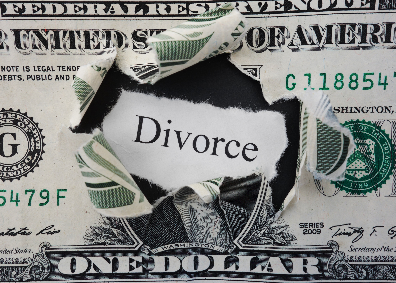 finances during a divorce