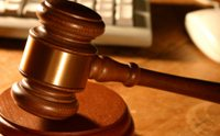 Gavel used for a Las Vegas quick divorce